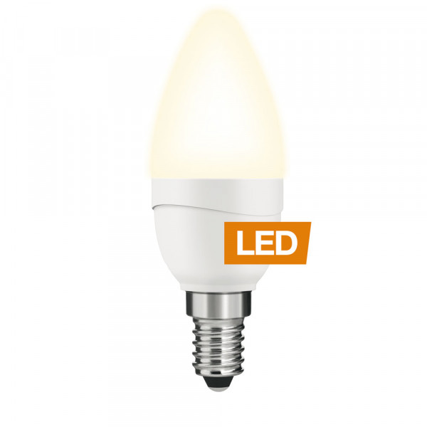 Lampe LED LEDON: Bougie, B35 5 W, non-dimmable