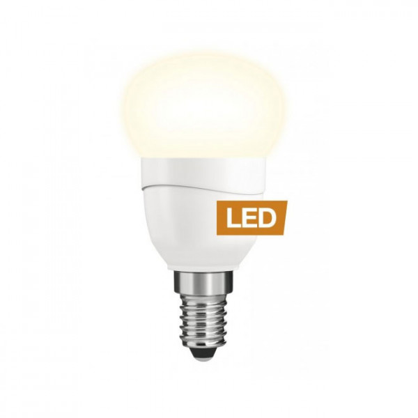 Lampe LED LEDON: Bougie, P45, 5W, E14, non-dimmable