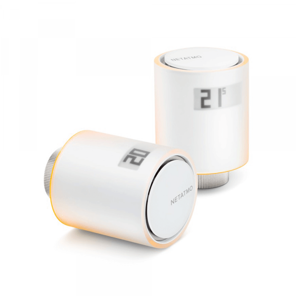 Netatmo Valve - kit de démarrage avec 2 thermostats intelligents et 1 concentrateur