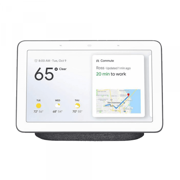 "Google Smartspeaker Home Hub Karbon mit 7""-Display"